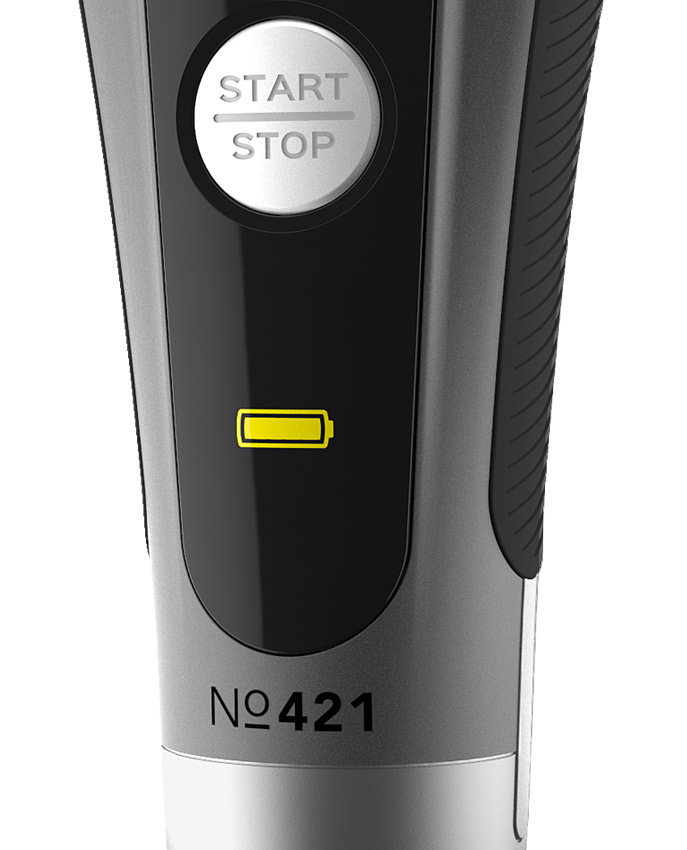 CARRERA №421 Shaver digital LED display and lithium high performance battery